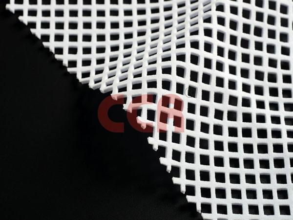 水白SBR方形冲孔