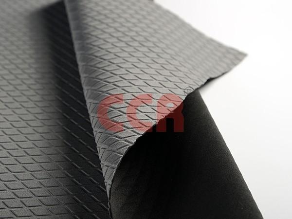 SBR贴合后菱形压纹