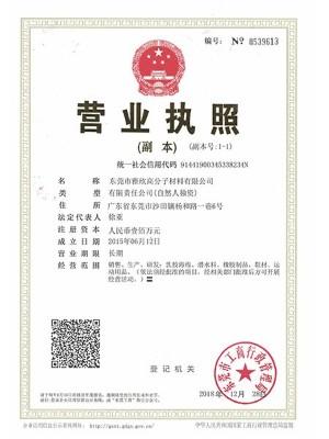 雅欣-营业执照